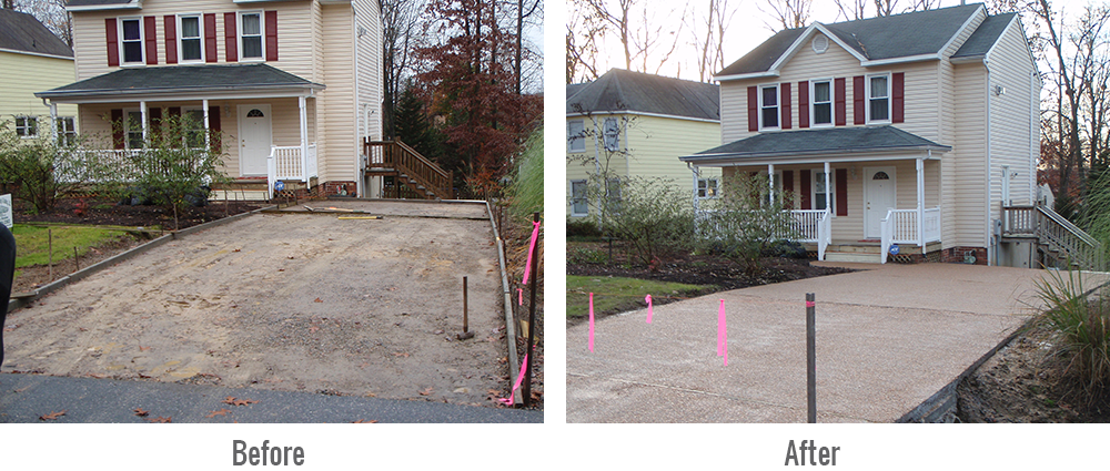 installation of aggregate driveways Richmond VA